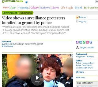 Guardian video surveillance