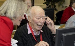 Seniors on the net
